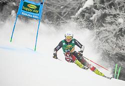 Elias Kolega of Croatia competes during 1st run of Men's GiantSlalom race of FIS Alpine Ski World Cup 57th Vitranc Cup 2018, on March 3, 2018 in Kranjska Gora, Slovenia. Photo by Ziga Zupan / Sportida