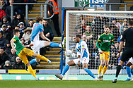 1-1, goal scored by Josh Harrop of Preston North End  during the EFL Sky Bet Championship match between Blackburn Rovers and Preston North End at Ewood Park, Blackburn, England on 11 January 2020.