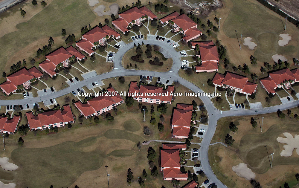 Aerial photograph of neighborhood, housing developments, DRONE VIEW OF HOUSES