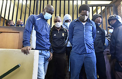 South Africa - Johannesburg - 27 October 2020 - Five suspects appear at the Boksburg Magistrate Court appear at the Boksburg magistrate court for the murder of the late former captain of Bafana Bafana and Orlando Pirates goalkeeper Senzo Meyiwa.Picture: Itumeleng English/African News agency(ANA)