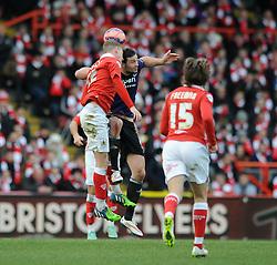 - Photo mandatory by-line: Dougie Allward/JMP - Mobile: 07966 386802 - 25/01/2015 - SPORT - Football - Bristol - Ashton Gate - Bristol City v West Ham United - FA Cup Fourth Round