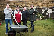 Paddy Conneely , Caroline Fola, Ruth Freeman and  Suzi ward <br /> Photo:Andrew Downes