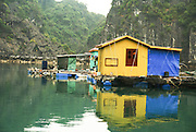 Vietnam, Halong Bay Floating Fishing Village