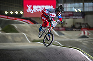 #155 (KLESHCHENKO Evgeny) RUS at the 2016 UCI BMX Supercross World Cup in Manchester, United Kingdom<br /> <br /> A high res version of this image can be purchased for editorial, advertising and social media use on CraigDutton.com<br /> <br /> http://www.craigdutton.com/library/index.php?module=media&pId=100&category=gallery/cycling/bmx/SXWC_Manchester_2016