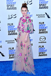 February 8, 2020, Santa Monica, Kalifornien, USA: Kaitlyn Dever bei der 35. Verleihung der Film Independent Spirit Awards 2020 im Zelt am Santa Monica Beach. Santa Monica, 08.02.2020 (Credit Image: © Future-Image via ZUMA Press)