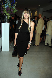 GELA TAYLOR at a reception hosted by Vogue magazine to launch photographer Tim Walker's book 'Pictures' sponsored by Nude, held at The Design Museum, Shad Thames, London SE1 on 8th May 2008.<br /><br />NON EXCLUSIVE - WORLD RIGHTS