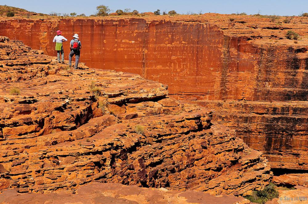 Kings Canyon, Watarrka National Park, Northern Territory, Australia, Oceania