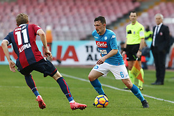 January 28, 2018 - Naples, Italy - MARIO RUI (SSC Napoli).., during the Serie A match between SSC Napoli and FC Bologna at Stadio S. Paolo on January 28, 2018 in Naples, Italy  (Credit Image: © Paolo Manzo/NurPhoto via ZUMA Press)