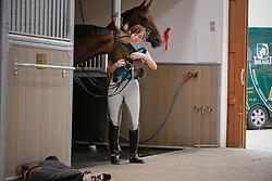 Mommen Mieke (BEL) - Rocky<br /> Stal Jeroen Devroe Nieuwrode 2009<br /> © Dirk Caremans