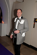 HARRY BLAIN, The Surrealist Ball in aid of the NSPCC. Hosted by Lucy Yeomans and Harry Blain. Banqueting House. Whitehall. 17 March 2011. -DO NOT ARCHIVE-© Copyright Photograph by Dafydd Jones. 248 Clapham Rd. London SW9 0PZ. Tel 0207 820 0771. www.dafjones.com.