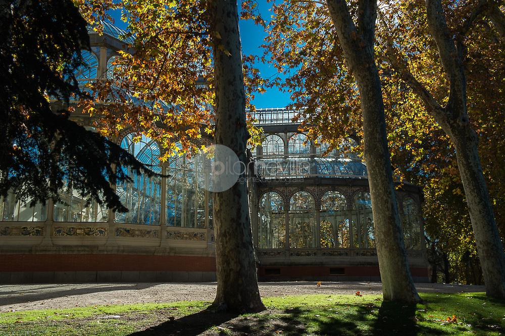 Palacio de Cristal. Parque del Retiro. Madrid. Comunidad de Madrid. España. Europa ©Tomás Calle / PILAR REVILLA