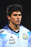 Facundo Roncaglia of Argentina - Argentina vs. Portugal - International Friendly - Old Trafford - Manchester - 18/11/2014 Pic Philip Oldham/Sportimage