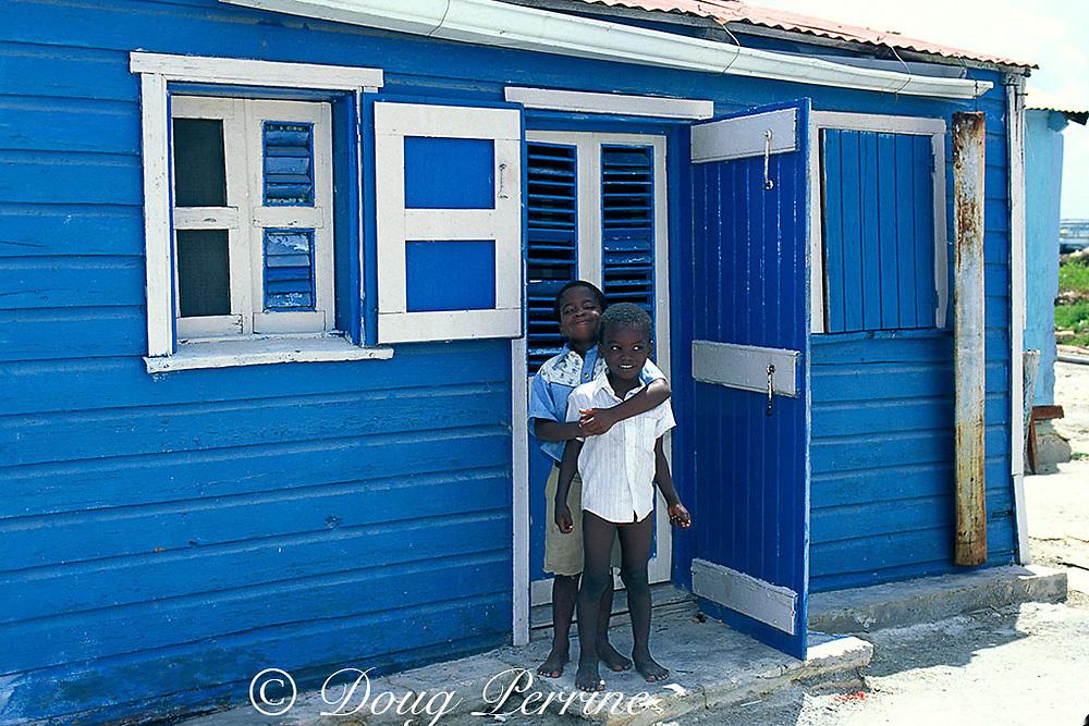 children on South Caicos, <br /> Turks & Caicos Islands, <br /> Western Indies
