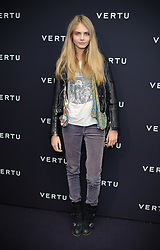 Cara Delevingne attending the Vertu Constellation launch party, in the Farmiloe Building in Clerkenwell, London.