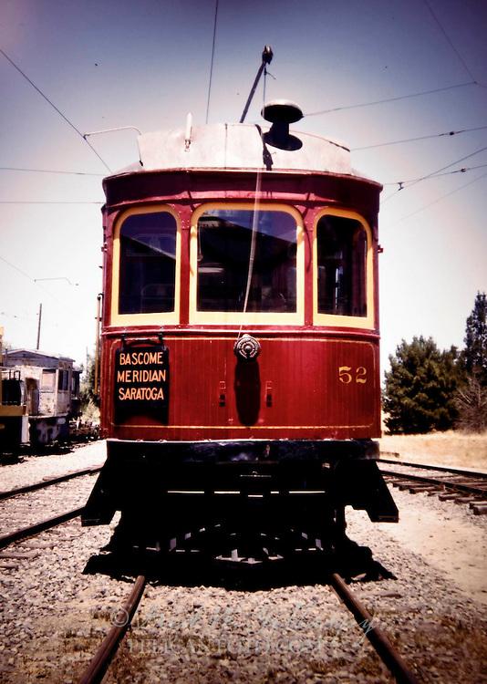Santa Clara Valley Streetcar, c. 1914 -1