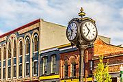 Historic Ypsilanti Depot Town Clock
