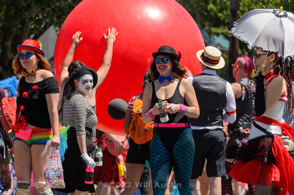 Fremont Solstice Parade in Seattle, WA USA