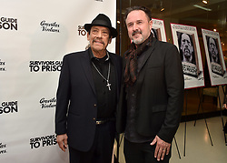 Danny Trejo and David Arquette attend the Survivors Guide to Prison premiere at The Landmark Theatre on February 20, 2018 in Los Angeles, California. Photo by Lionel Hahn/AbacaPress.com