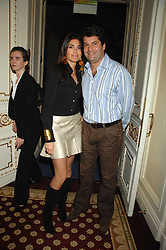 TIM MOUFFARIGE and JUDITH HESSE at a party to celebrate the launch of The Essential Party Guide held at the Mandarin Oriental Hyde Park, 66 Knightsbridge, London on 27th March 2007.<br /><br />NON EXCLUSIVE - WORLD RIGHTS