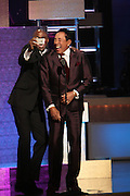 8 February -Washington, D.C: (L-R)Comedian/Actor Wayne Brady and Recording Artist Smokey Robinson attend the BET Honors Inside 2014 held at the Warner Theater on February 8, 2014 in Washington, D.C. (Terrence Jennings)