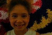 Nova Lima_MG, Brasil...Tapecaria do Projeto Fred, na foto rosto de uma garota...The tapestry of Fred project, in this photo the girl face...Foto: BRUNO MAGALHAES / NITRO