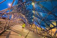 The Helix Bridge, Early Morning