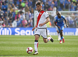February 23, 2019 - Getafe, Madrid, Spain - Pozo of Rayo Vallecano in action during La Liga Spanish championship, football match between Getafe and Rayo Vallecano, February 23th, in Coliseum Alfonso Perez in Getafe, Madrid, Spain. (Credit Image: © AFP7 via ZUMA Wire)