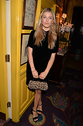 Actress Lily Travers at the Annabel's Bright Young Things Party at Annabel's, Berkeley SquareLondon England. 8 June 2017.<br /> Photo by Dominic O'Neill/SilverHub 0203 174 1069 sales@silverhubmedia.com