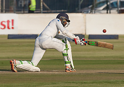 Sri Lanka batsman Upal Tharanga  in action during the 100th test match played by Zimbabwe in a match with Sri Lanka at Harare Sports Club 29 October 2016.