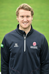 Club doctor James Kennedy during the media day at the County Ground, Taunton. PRESS ASSOCIATION Photo. Picture date: Wednesday April 11, 2018. See PA story CRICKET Somerset. Photo credit should read: Ben Birchall/PA Wire. RESTRICTIONS: Editorial use only. No commercial use without prior written consent of the ECB. Still image use only. No moving images to emulate broadcast. No removing or obscuring of sponsor logos.