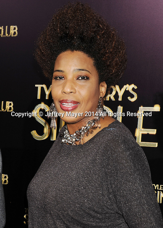 HOLLYWOOD, CA- MARCH 10: Singer Macy Gray arrives at the Los Angeles premiere of Tyler Perry's 'The Single Moms Club' at the ArcLight Cinemas Cinerama Dome on March 10, 2014 in Hollywood, California.