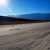 USA, California, Death Valley. Badwater Basin, the lowest point in North America.