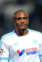 Kassim ABDALLAH - 22.10.2013 - Marseille / Naples - Champions League<br /> Photo: Amandine Noel / Icon Sport