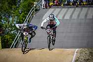 #78 (WHYTE Tre) GBR and #179 (MARQUART Simon M.) SUI at Round 4 of the 2018 UCI BMX Superscross World Cup in Papendal, The Netherlands