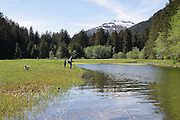 Fly Fishing, Sitka, Alaska<br />