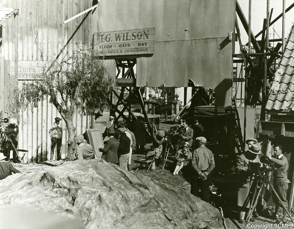 1927 Filming at MGM Studios