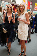 lady sophia hesketh; lady flora hesketh, Royal Academy of Arts Summer Exhibition Preview Party 2011. Royal Academy. Piccadilly. London. 2 June <br /> <br />  , -DO NOT ARCHIVE-© Copyright Photograph by Dafydd Jones. 248 Clapham Rd. London SW9 0PZ. Tel 0207 820 0771. www.dafjones.com.