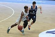 Basketball: Deutschland, 1. Bundesliga, Hamburg Towers -  Alba Berlin, Hamburg, 23.03.2021<br /> TJ Shorts (Towers, l.) - Jonas Mattisseck (Alba)<br /> © Torsten Helmke
