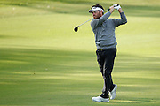 February 16th 2017, Lake Karrinyup Country Club, Perth, Western Australia, Australia; ISPS Handa World Super 6 Perth Golf Tournament Day 1; Louis Oosthuizen  (RSA) hits an approach shot on the 11th fairway during the first round of the ISPS Handa World Super 6 Golf Tournament;