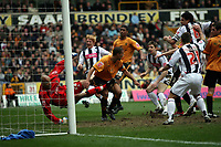 Photo: Rich Eaton.<br /> <br /> Wolverhampton Wanderers v West Bromwich Albion. The FA Cup. 28/01/2007. West Broms Zoltan Gera #11 in the centre scores in the second half to make the score 3-0