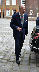 May 4, 2017 - London, London, United Kingdom - Image ©Licensed to i-Images Picture Agency. 04/05/2017. London, United Kingdom. The  Duke of Edinburgh arriving for an Order of Merit service at the Chapel Royal in St James's Palace, London, following the announcement the Duke is to retire from public duties. Picture by ROTA / i-Images  UK OUT FOR 28 DAYS (Credit Image: © Rota/i-Images via ZUMA Press)