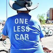"""""""One Less Car"""" pretty well sums up Tom Chabot's approach to life. This veteran bicycle tourist has pedaled all of the Lower 48 states and still gets around by bike."""