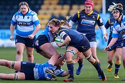 Charlotte Wright Haley, on debut for Worcester Warriors Women, - Mandatory by-line: Nick Browning/JMP - 09/01/2021 - RUGBY - Sixways Stadium - Worcester, England - Worcester Warriors Women v DMP Durham Sharks - Allianz Premier 15s