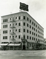 1937 Wilcox Hotel at Wilcox and Selma Aves.