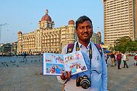 Inde, Maharashtra, Mumbai (Bombay), hotel Taj Mahal Palace, photographe // India, Maharashtra, Mumbai (Bombay), Taj Mahal Palace hotel, photographer