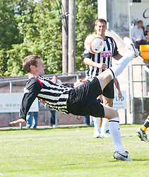 Dunfermline's Andy Barrowman..Annan Athletic 1v 2 Dunfermline, Scottish Communities League Cup 1st round, 30th July 2011..©Pic : Michael Schofield.