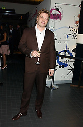 Chef JAMIE OLIVER at the Harpers and Moet Restaurant Awards 2005 held at Floridita, Wardour Street, London W1 on 31st October 2005.<br /><br />NON EXCLUSIVE - WORLD RIGHTS