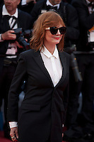 Actress Susan Sarandon at the gala screening for Woody Allen's film Café Society and opening ceremony at the 69th Cannes Film Festival, Wednesday 11th May 2016, Cannes, France. Photography: Doreen Kennedy