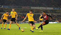 Bournemouth's Junior Stanislas has a shot on goal