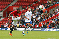 Football - International Friendly - England U21 vs. Norway U21<br /> Harmeet Singh of Norway (and Valerenga) tries a long range shot during the international friendly between England and Norway at St Mary's stadium Southampton England